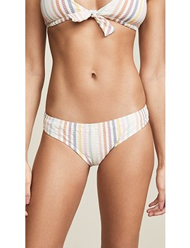 Stripe Andi Bikini Bottoms by Madewell