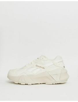 Белые двойные кроссовки Reebok Aztrek by Reebok