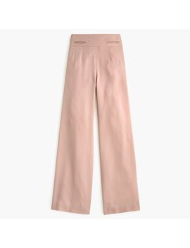 Petite Full Length High Rise Pant In Tencel™ Dobby by J.Crew