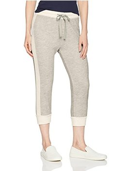 Three Dots Women's Beach Terry Tight Long Jogger by Three Dots