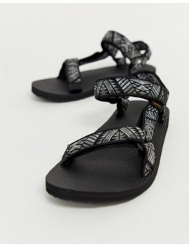 Teva Original Universal Tech Sandals In Black Print by Teva