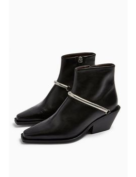 Mercy Western Boots by Topshop