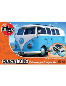 Airfix Model Kit 6024   Quick Build Kit   Volkswagen Camper Van   Blue by Airfix