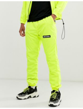 Night Addict Neon Trackpants by Joggers