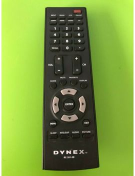 Dynex Lcd Tv Remote Control Rc 201 0 B For Dx Lcd22 09 Dx Lcd42 Hd Lcd37 W/Battrs by Ebay Seller