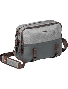 Manfrotto Mb Lf Wn Rp Camera Reporter Bag For Dslr Lifestyle Windsor, Grey by Manfrotto
