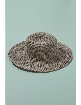 Packable Floppy Straw Hat by Anthropologie