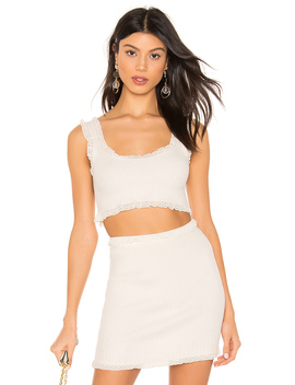 Britney Ruffle Cami by For Love & Lemons
