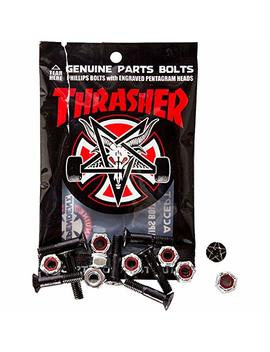 "Independent Thrasher Bolts Hardware 1"" Phillips Blk/Sil 1set by Independent"