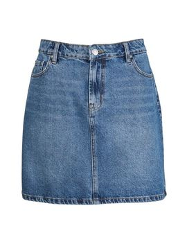 Indigo Denim Mini Skirts by Dorothy Perkins