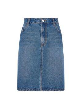 **Tall Indigo Denim Mini Skirt by Dorothy Perkins
