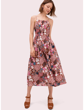 Garden Posy Midi Dress by Kate Spade