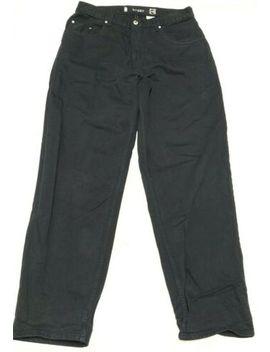 Levis Silvertab Baggy Fit Black Denim Jean Pants Mens Size 34 X 34 by Levi's