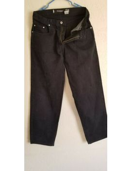 Levi's Silver Tab Baggy Jeans Mens 34x34 Black Vintage 90's Excellent Condition by Silver Tab