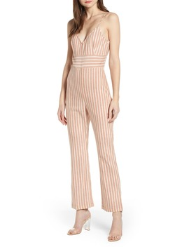 Flare Leg Jumpsuit by Leith