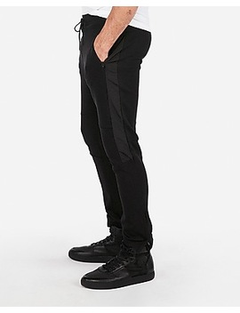 Side Panel Jogger Pants by Express