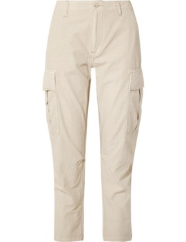 Cotton Ripstop Cargo Pants by Re/Done