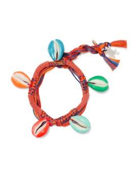 Takayama Braided Cotton And Resin Bracelet by Aurélie Bidermann