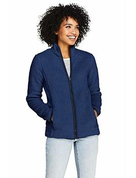 Lands' End Women's Cozy Sherpa Fleece Jacket by Lands' End