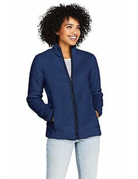 Lands' End Women's Cozy Sherpa Fleece Jacket by Lands' End