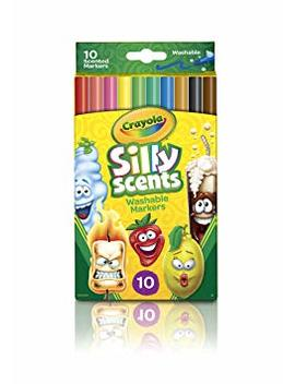 Crayola 10 Ct Silly Scents Washable Scented Markers by Crayola