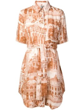 Printed Shirt Dress by Acne Studios