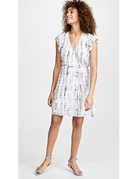 Flutter Sleeve Wrap Dress by Bella Dahl