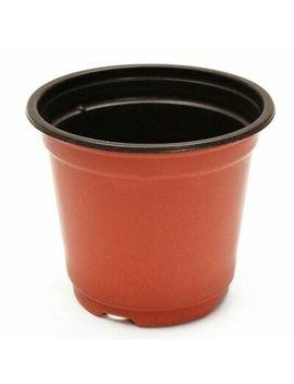 50 Pcs Plastic Plant Pots Home Garden Nursery Flowerpots A3 K1 by Sodial