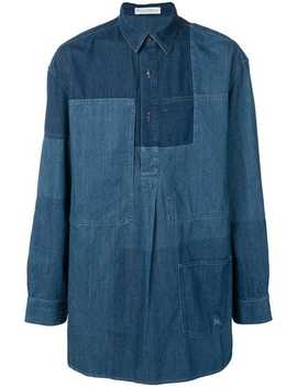 Panelled Denim Shirt by Jw Anderson