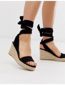&Amp; Other Stories   Sandali Tipo Espadrilles Con Tacco Neri by & Other Stories