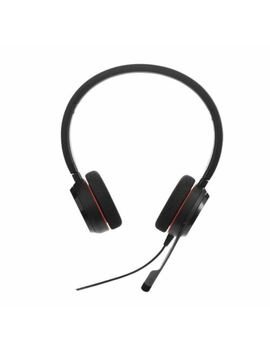 Jabra Evolve 20 Ms Hsc016 Uc Stereo Wired Headset Vo Ip Call Center Music $52 by Jabra