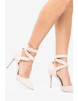 Show Off Lace Up Pump by A'gaci