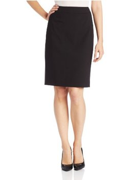 Calvin Klein Women's Straight Fit Suit Skirt by Calvin Klein