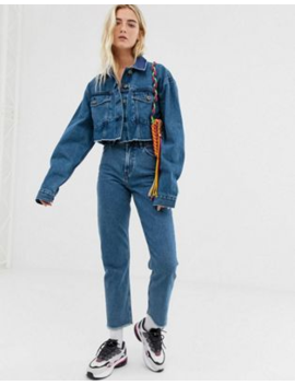 Collusion Raw Hem Denim Jacket & Jeans Two Piece by Asos Brand