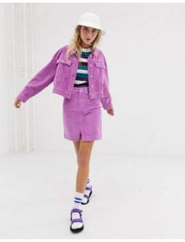 Collusion Cord Jacket & Mini Skirt Two Piece by Asos Brand
