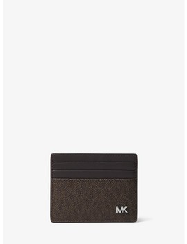 Jet Set Tall Logo Card Case by Michael Kors Mens