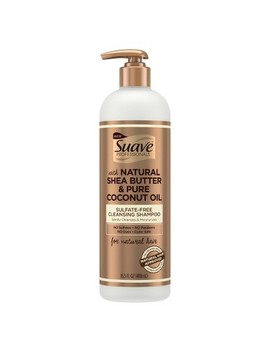 Suave Professionals Natural Shea Butter &Amp; Pure Coconut Oil Sulfate Free Cleansing Shampoo   16.5 Fl Oz by Free Cleansing Shampoo