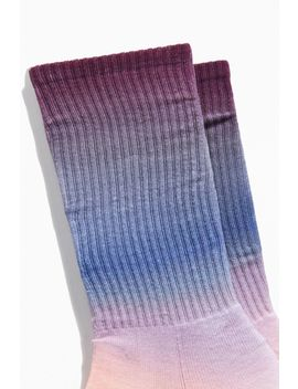 Dip Dyed Sport Crew Sock by Urban Outfitters