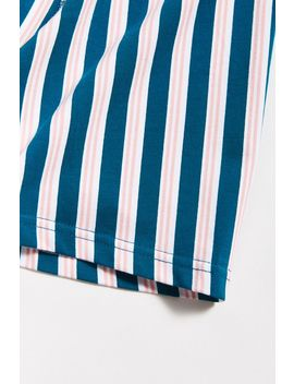 Vertical Beach Stripe Boxer Brief by Urban Outfitters