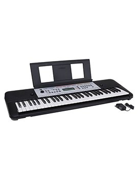 Yamaha Ypt260 61 Key Portable Keyboard With Power Adapter (Amazon Exclusive) by Yamaha