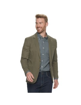 Men's Sonoma Goods For Life™ Garment Washed Stretch Sport Coat by Kohl's