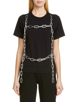 Chain Harness Tee by Comme Des GarÇons