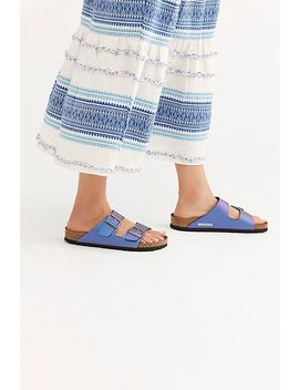 Arizona Icy Metallic Birkenstock Sandal by Birkenstock