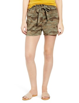 Paperbag Waist Shorts by Caslon®