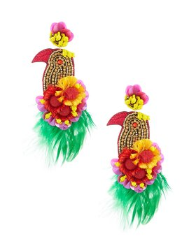 Bird Statement Earrings by Anna &Amp; Ava