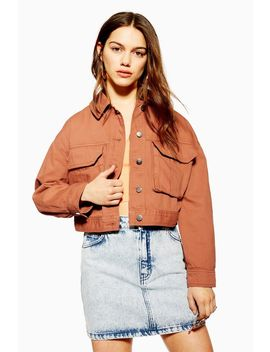 Petite Blush Shacket by Topshop