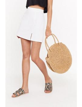 Want Another Round Woven Bag by Nasty Gal