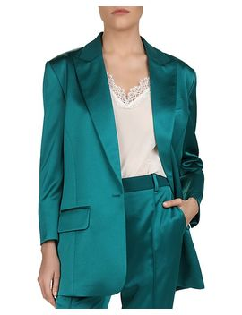 Satin Blazer by The Kooples