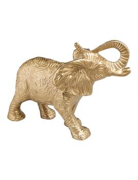 Gold Metal Elephant Decor by World Market