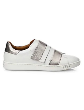 Willet Leather Grip Tape Sneakers by Bally